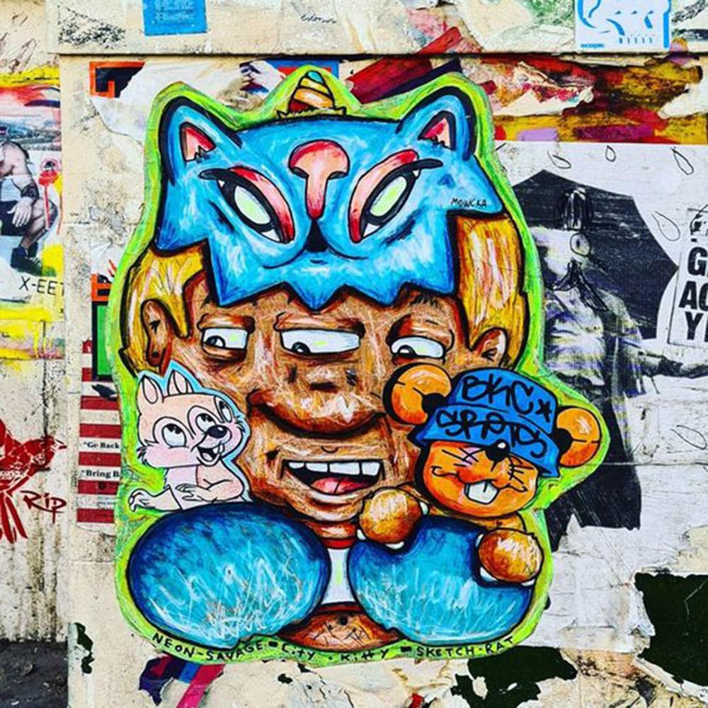 neon savage collaborazione con CityKittyStreet