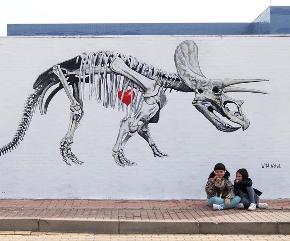 wild welva_dinosauro_opera